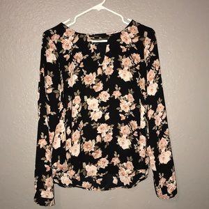 Floral loose top